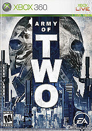 Army of Two (Microsoft Xbox 360, 2008) Brand New Sealed