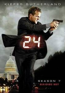 24-THE-COMPLETE-SEASON-7-dvd-Set-6-disc-set-KIEFER-SUTHERLAND