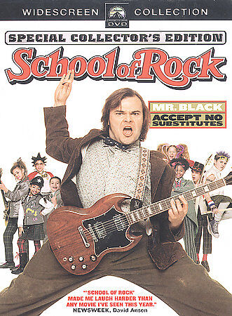 School of Rock (Full Screen Edition) DVD
