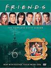 Friends - The Complete Sixth Season (DVD, 2004, 4-Disc Set, Digi-Pack)
