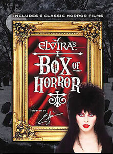 Elvira's Box of Horror - 6 Movie Set (DVD, 2004, 3-Disc Set) NEW