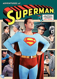 The Adventures of Superman Complete Fifth & Sixth Season 5 & 6 ~ NEW 5-DISC DVD