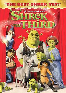 Shrek-the-Third-DVD-2007-version-de-pantalla-completa-disco-solamente