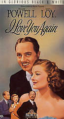 I Love You Again     (VHS)   William Powell Myrna Loy    BRAND NEW   7041