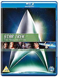 Star Trek V: The Final Frontier [Blu-ray] [1989] New & Sealed
