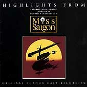 Miss Saigon [Original London Cast Recording] [Highlights] by Original Cast (CD,
