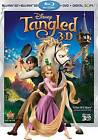 Tangled (Blu-ray/DVD, 2011, 4-Disc Set, Includes Digital Copy; 2D/3D)