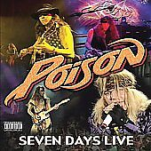 FREE US SHIP. on ANY 3+ CDs! NEW CD Poison: Seven Days Live