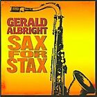 Sax for Stax by Gerald Albright (CD, Jun-2008, Peak Records)