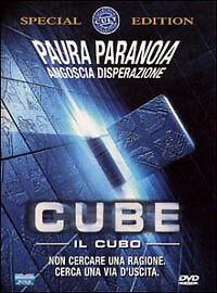 Cube - Il cubo - (Film 1997) - DVD NUOVO - Italia - L'oggetto può essere restituito - Italia