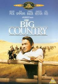The-Big-Country-DVD-2001-Gregory-Peck-VGC