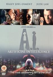 AI  Artificial Intelligence DVD 2002 2Disc Set - Colchester, United Kingdom - AI  Artificial Intelligence DVD 2002 2Disc Set - Colchester, United Kingdom