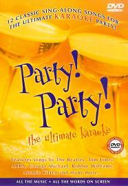Party! Party! The Ultimate Karaoke [DVD], Excellent DVD, ,