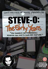SteveO  The Early Years DVD BRAND NEW SEALED - MILTON KEYNES, Buckinghamshire, United Kingdom - SteveO  The Early Years DVD BRAND NEW SEALED - MILTON KEYNES, Buckinghamshire, United Kingdom