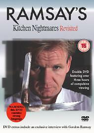 Ramsay's Kitchen Nightmares Revisited (DVD, 2006) 2 disc
