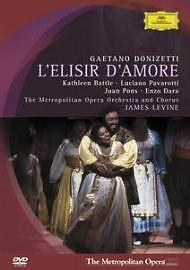 L'Elisir D'Amore - Donizetti (DVD, 2005) New and Sealed  UK Seller Fast postage
