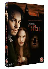 From-Hell-DVD-2003-Starring-Johnny-Depp-and-Heather-Graham-Excellent-Condit