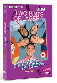 Two Pints Of Lager And A Packet Of Crisps  Series 3 amp 4 DVD 2004 4Disc Set - <span itemprop=availableAtOrFrom>Accrington, United Kingdom</span> - If In The Unlikely Event That This Item Arrives Faulty Please Return Within 7 Days For A Full Refund Or Replacement Most purchases from business sellers are protected by the Consumer C - Accrington, United Kingdom