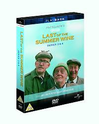 Last-Of-The-Summer-Wine-Series-3-4-Complete-DVD-2004-3-Disc-Set-Box-Set
