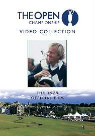The Open Official Film 1978 (DVD, 2005) (Jack Nicklaus)