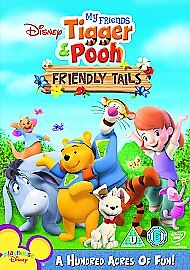 My Friends Tigger And Winnie the Pooh Friendly Tails DVD Children UK Release New