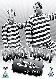Laurel and Hardy Crime and Punishment Collection DVD 2008 Stan Laurel - Insch, United Kingdom - Laurel and Hardy Crime and Punishment Collection DVD 2008 Stan Laurel - Insch, United Kingdom