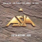 ASIA live in Moscow 1990   CD ALBUM   NEW - NOT SEALED
