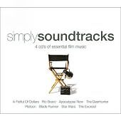 Simply (Movie) Soundtracks: Horror, Sci-F, Western, War  4 x CD's