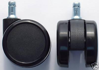 Hardwood Floor Rubber Casters For Office Chair 2.5 Dia Cs-65
