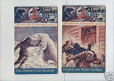12 verschiedene Original -   Alaska Jim  - 1935-1939