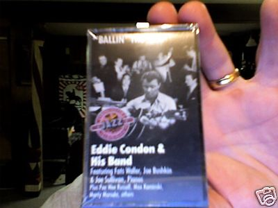Eddie Condon & Band-  Ballin' the Jack- new/sealed cassette tape