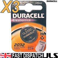 3 X Dl2032 Duracell Batterie Al Litio Cr2032 2032 - duracell - ebay.it