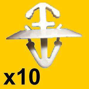 10x-Vauxhall-Vivaro-Side-Moulding-Door-Trim-Clips