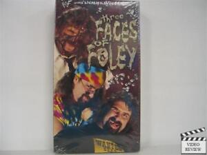 WWF-Three-Faces-of-Foley-VHS-1998-Brand-New