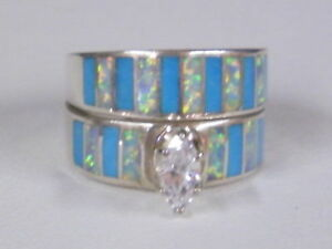 navajo wedding rings american indian navajo wedding ring set turquoise 6110
