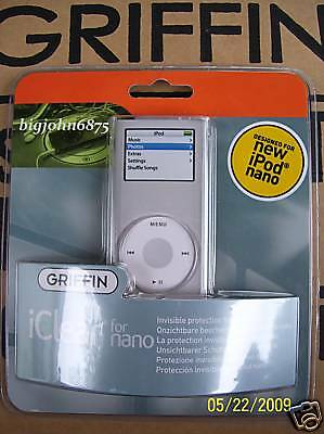 Griffin Iclear Case For Ipod Nano 2g Wholesale Lot 48