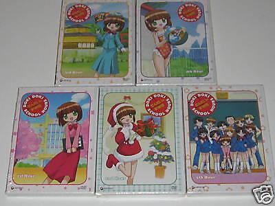 Doki Doki School Hours - Vol.1,2,3,4,5 Complete Collect