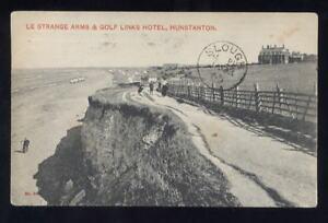 PPC-GOLF-1909-ADVERT-LE-STRANGE-ARMS-LINKS-HUNSTANTON