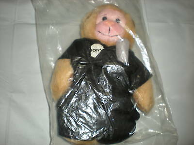 Sony Advertising Monkey Plush Black Microphone