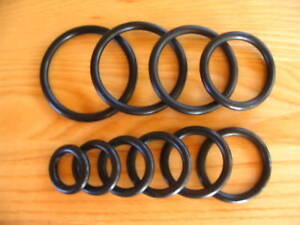 RUBBER-O-RINGS-Choose-from-18-sizes-up-to-2-1-4-ID