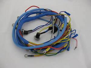 fordson super dexta tractor wiring wire loom harness ebay John Deere Tractor Wiring 1066 International Tractor Wiring Harness