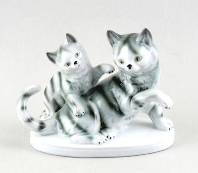 Katze mit Kätzchen bunt Gräfenthal 9943018