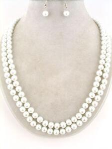 45-034-Faux-Pearl-Necklace-Set-Bridal-Bridesmaids-Wedding
