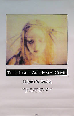 The Jesus And Mary Chain 1992 Honeys Dead Lollapalooza Original Poster
