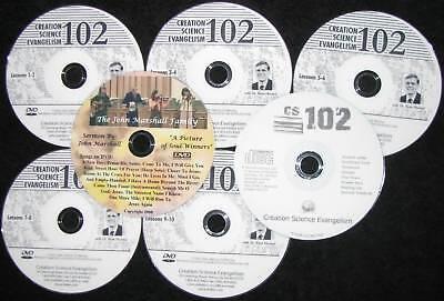 Marshall DVD+FREE 6 CSE 102 Hovind College Course NEW