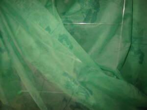 tissu voilage rideaux vert d 39 eau 3m de hauteur au m tre ebay. Black Bedroom Furniture Sets. Home Design Ideas