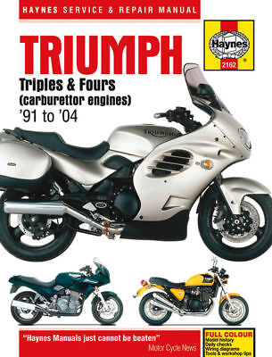 Triumph 750 900 1200 Trident Tiger Sprint Haynes Manual