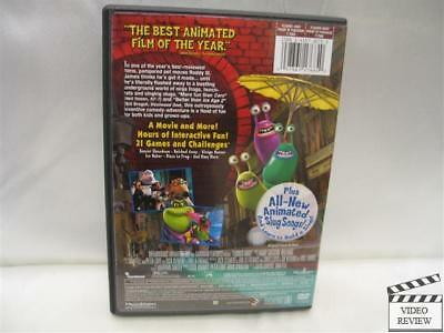 Flushed Away DVD WS Hugh Jackman Kate Winslet 097361176840 ...