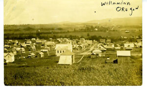 1911-RPPC-Postcard-Birds-eye-View-of-Willamina-Oregon
