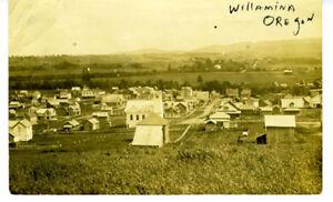 1911-RPPC-Postcard-Birds-eye-View-of-Willamina-Oregon